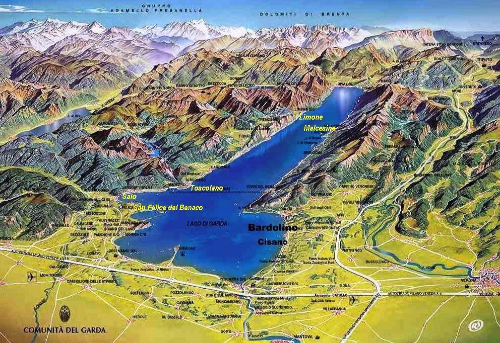 G 252 Nstige Top Hotels In Italien Gardasee Adria Direkt Am
