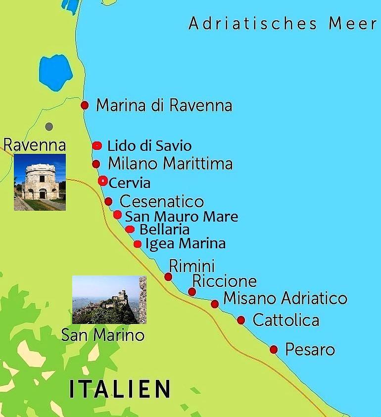 Italien Obere Adria Karte.Gunstige Top Hotels In Italien Gardasee Unter Privater